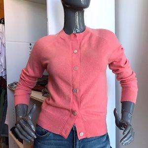 A.P. C. 100% Cashmere Cropped Cardigan EUC/Sz XS